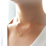 collier nid d abeille