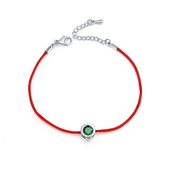 Bracelet Swarovski vert