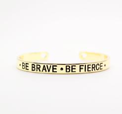 Bracelet porte bohneur- courage