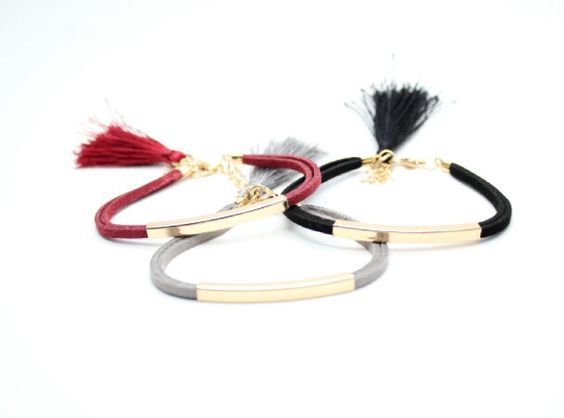 Bracelet tendance 2017 femme cuir