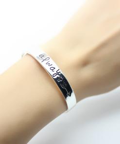 Bracelet jonc- cadeau romantique