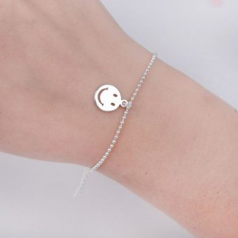 bracelet original plaque argent