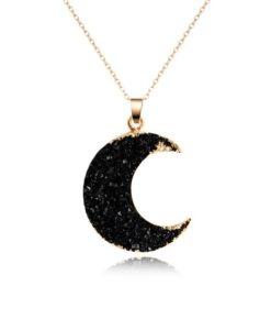 cadeau anniversaire collier lune