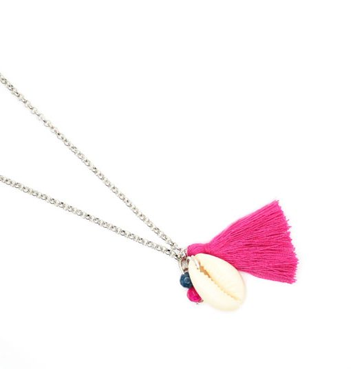 collier cadeau femme pompon