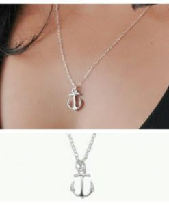 dee cadeau- collier ancre