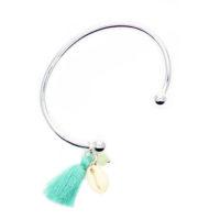 idee cadeau femme- bracelet jonc argent