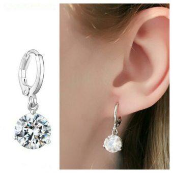 Boucles d'oreilles zirconium