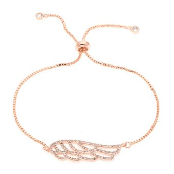 Bracelet de mariée ailes d' ange