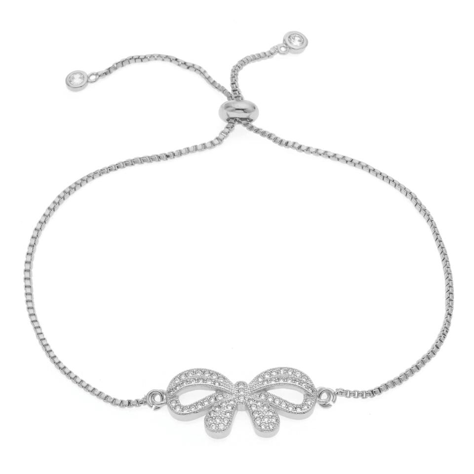 Bracelet mariage noeud swarovski