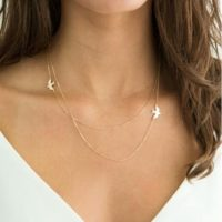 Collier fantaisie multi rangs