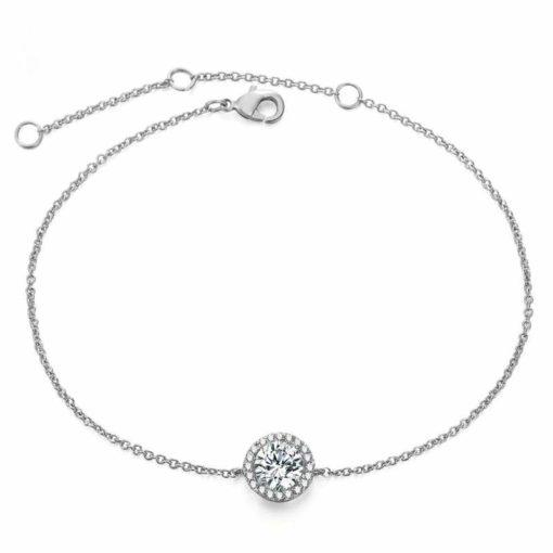 Bracelet femme solitaire