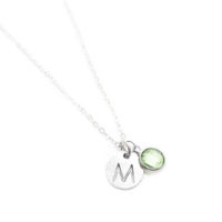 Collier personnalise - medaille