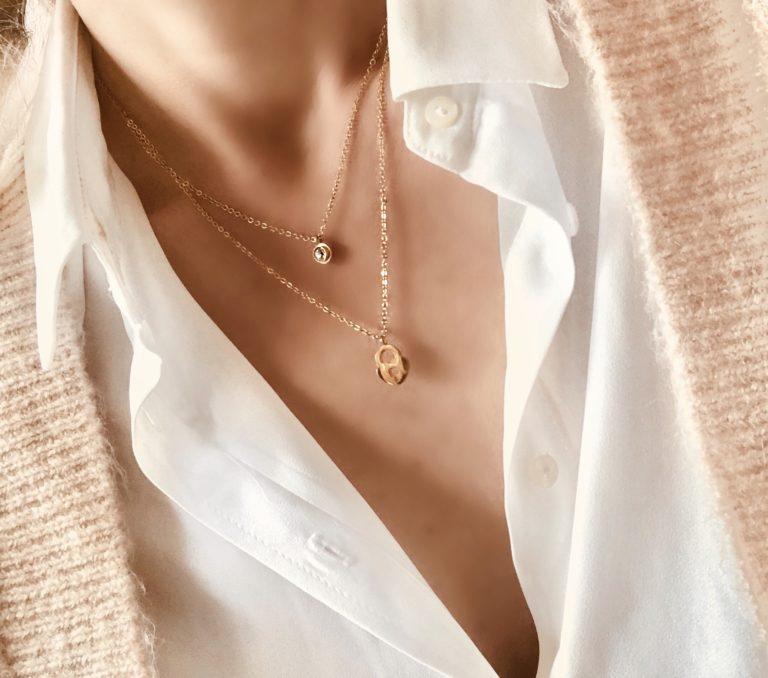 Collier pendentif coeur