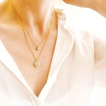 collier arbre de vie - bijoux fantaisie femme