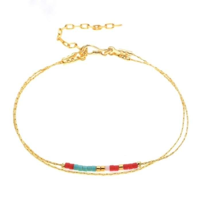 Bracelet dore or fin