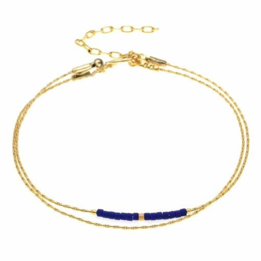 Bracelet fin dore