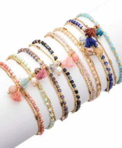 Bracelet multitours tendance 2019