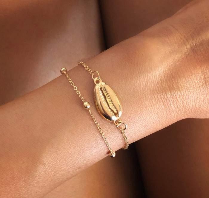 Bracelet multirangs or