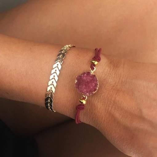 Lot de 2 bracelets tendance 2020