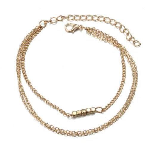Bracelet trois rangs pampille