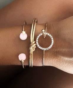 Ensemble de bracelets jonc