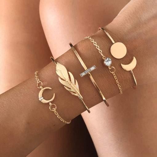 Ensemble de bracelets tendance 2019