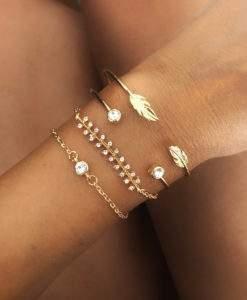 Ensemble de bracelets tendance 2020