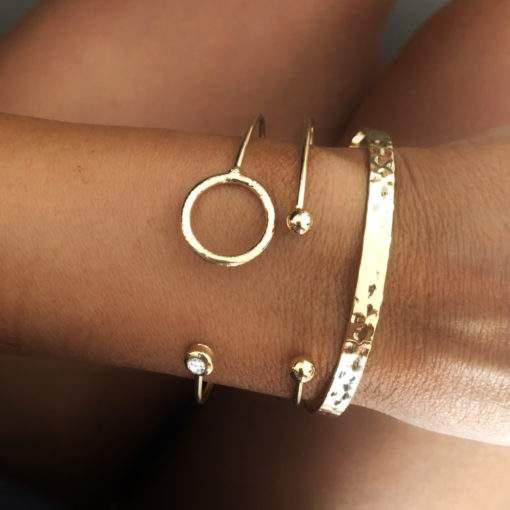 Lot de 3 bracelets tendance