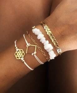 Lot de 5 bracelets tendance