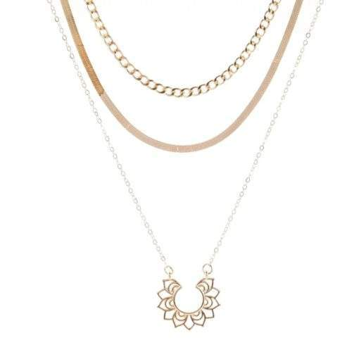 Collier multirang Boheme