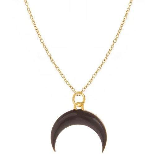Collier tendance 2020- corne lune
